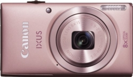 Canon IXUS 132 Digitalkamera (16 Megapixel, 8-fach opt. Zoom, 6,9 cm (2,7 Zoll) Display, bildstabilisiert) rosa - 1