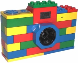 LEGO Baustein-Look Digital Kamera, 3 Megapixel, bunt aus USA - 1
