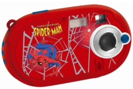 Lexibook DJ028SP Spider-Man Digitalkamera (5 Megapixel, 3,6 cm (1,4 Zoll) Display, 8MB interner Speicher) rot - 1