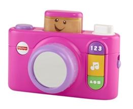 Mattel Fisher-Price CGR17 - Lernspaß klick und lern Kamera, pink - 1