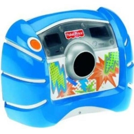 Mattel V2751-0 - Fisher-Price Digitalkamera blau mit 1,3 Megapixeln und 4fach digitalem Zoom - 1