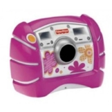 Mattel V2752-0 - Fisher-Price Digitalkamera rosa mit 1,3 Megapixeln und 4fach digitalem Zoom - 1