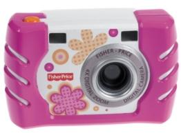 Mattel W1460 - Fisher Price Basic Digitalkamera, rosa - 1
