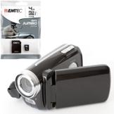 Meine erste Videokamera für Kinder - mit 4GB (class 10) Speicherkarte, LED-Blitzlicht, Fotomodus, inkl. USB- und Videokabel - 1