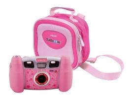 Vtech 80-107064 - Kidizoom Pro Digitalkamera pink inklusiv Tragetasche - 1