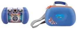 Vtech 80-122814 - Kidizoom Twist Digitalkamera inklusiv Tragetasche, blau - 1