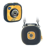 VTech 80-170794 – Kidizoom Action Cam mit Tragetasche, gelb/schwarz - 1