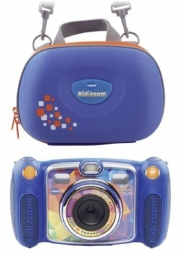 VTech 80-170814 - Kidizoom Duo mit Tragetasche, Digitalkamera, blau - 1