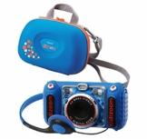 Vtech 80-520094 80-520094-KidiZoom Duo DX inkl. Tragetasche blau Kinderkamera - 1