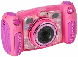 VtechKidizoom Duo 5.0Digitale Kamera für Kinder, 5MP, Farbdisplay, 2Objektive, Pink Englische Version Rosa - 1