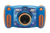 Vtech Kidizoom Duo 5.0 Digitale Kamera für Kinder, 5 MP, Farbdisplay, 2 Objektive, Englische Version, blau - 1