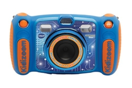 VtechKidizoom Duo 5.0Digitale Kamera für Kinder, 5MP, Farbdisplay, 2Objektive, Englische Version, blau - 1